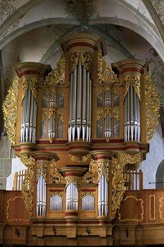 Stumm organ, Mathiaskirche, Bad Sobernheim, Germany  Copyright: Sven Erich Czernik