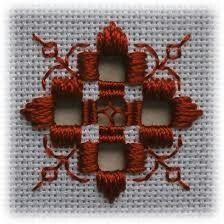 Risultato immagine per Free Hardanger Patterns Christmas Types Of Embroidery, Learn Embroidery, Ribbon Embroidery, Embroidery Patterns, Doily Patterns, Loom Patterns, Dress Patterns, Hardanger Embroidery, Cross Stitch Embroidery