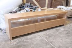 local made tassie oak byron lowline entertainment tv unit. Different colours, free postage, has matching buffet $700