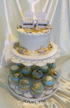 Small Beach Wedding By tokazodo on CakeCentral.com