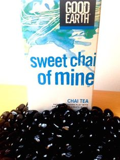 Sweet Chai of Mine has a hint of licorice flavor – like Black Jelly Beans! Yum!