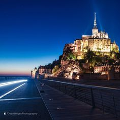 Mont Saint Michel is the most visited tourist attraction in France.  The remarkable mediaeval walled city has a population of 44 and its bay are part of the UNESCO list of World Heritage Sites. Every year, more than 3 million people visit the landmark.  Photo cred: @deanwrightphotography  Beautiful? Double tap if you like it!