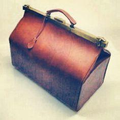 Doctor bag, leather bag, bag porn, fashion