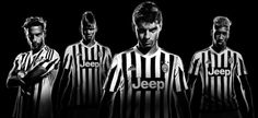 The official launch of the 2015-16 Juventus home kit.