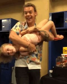 How wonderful looks Harry playing with Lux