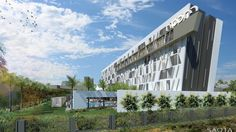 CM HOTEL DOUALA - SAOTA Architecture and Design