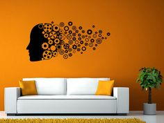 Science Geek Decal | Silhouette | Classroom Wall Vinyl | Classroom Decal | Wall Art | Knowledge Vinyl | Knowledge Decal | Wall Decal L1936