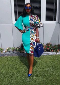 The best collection of 2018 most stylish ankara designs you've been looking for. We have them complete stylish ankara designs 2018 here African Fashion Ankara, Latest African Fashion Dresses, African Print Dresses, African Print Fashion, Africa Fashion, African Dress, Ankara Short Gown Styles, Trendy Ankara Styles, Short Gowns