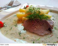 Kôprová omáčka (Slovak dill sauce)
