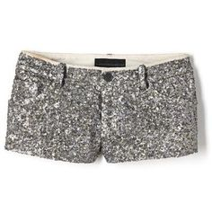 sparkly shorts.YES.