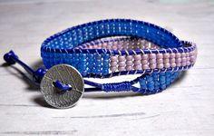 Double Wrap Bracelet - Wrap Around - Bead Wrap Bracelet - Bead Bracelet - Gifts for Her - Women Jewelry - Leather Wrap