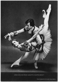 Karen Kain and Frank Augustyn in 'Sleeping Beauty.' Photo by Max Waldman - National Ballet of Canada Karen Kain, Body Painting, Dance Legend, Vintage Ballet, Dance Art, Tap Dance, Gemini, Nureyev, Scouts