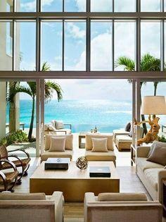 Beach House Living Room Hawaii