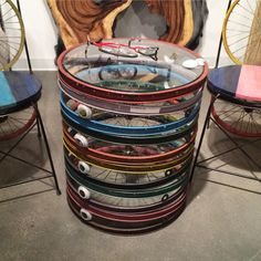 bicycle table by Phillips Collection