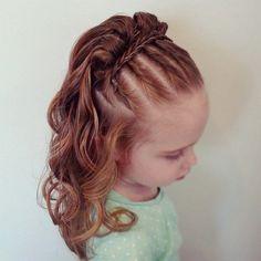 25 Cute Little Girl Hairstyles