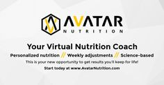 Avatar Nutrition   Your Personalized Online Nutrition Coach