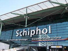 Amsterdam Airport Schiphol  Had to change planes at this airport.  Customs asked me if anyone placed anything in my luggage without my knowledge.  Ha!  What a fun trip!