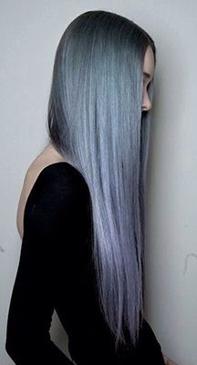 silver-ombre-hair-color | Check out 2015's Hair Color Trends! From babylights and platinum blonde to marsala and caramel browns - get your latest hair color ideas and hair color formulas here! http://www.jexshop.com/