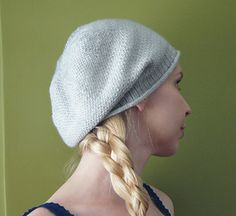 Lightweight slouchy hat that is a breeze to knit!