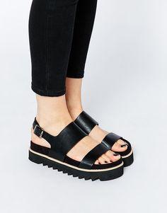 Image 1 of ASOS FABLE Flatform Sandals
