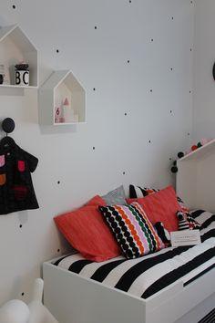 Seinäjoen asuntomessut ja Cubo - Kotini on helmeni Marimekko, Game Room, Toddler Bed, Kids Rugs, House, Interiors, Furniture, Games, Home Decor