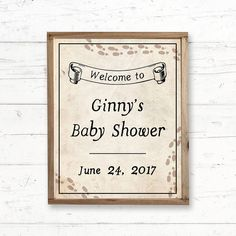 Harry Potter Welcome Bridal Shower or Baby by CrissyDesignCo