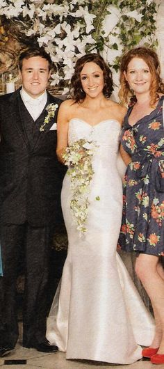 Alan Halsall is married to former Coronation Street and Wild at Heart actress, Lucy-Jo Hudson on 15th June 2009. Alan David Halsall (born 11 August 1982) is an English actor best known for playing Tyrone Dobbs in Coronation Street, a role which he has played since 1998. Also pictured with them is (Fiz) Jennie McAlphine.
