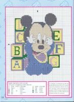 Gallery.ru / Фото #106 - punto cros Disney - sweetCrossStitching