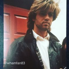 Sharing a photo of George that I took in the mid 80's and practicing with a Watermark app! I've noticed that some of my photos are on other accounts! I thought I'd start to watermark my George photos to confirm that I've taken them #georgemichael #georgerip #ripgeorgemichael #legend #gonetoosoon #devastated #wham #80s #the80s #80smusic #truefan #greek #cypriot #london