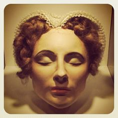 Reminds me of one of Princess Mombi's heads.mary queen of scots death mask