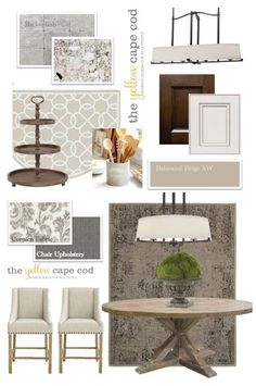 Griege (Gray and Beige) Kitchen and Dining Nook (via Bloglovin.com )