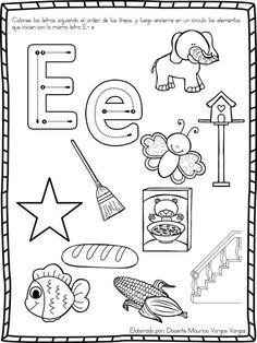 Fichas Para Preescolar Que Actividades Usas Para Trabajar La Letra