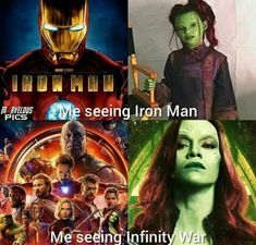 I grew up reading the comics as a small kid, then by the time I was ten I was an excited kid sitting in the theater and watching iron man fly around the scream. Now? Now I'm watching the screen blinking tears away from my eyes, worried that the hero's I've come to love may not be part of the films after Avengers 4- How the times do change..