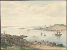View of Dartmouth and Halifax. 1850  Archives Search - Library and Archives Canada