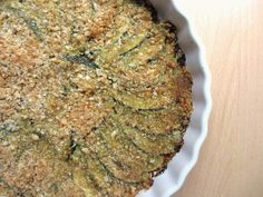 COOKING JULIA: CRUMBLE AUX COURGETTES