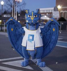 Introducing the wyvern mascot of Quinsigamond Community College - a popular school mascot. Custom Design, Marketing, Tips, Dragons, Advice