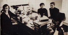 Karel Gott, John Lennon, Yoko Ono 1971