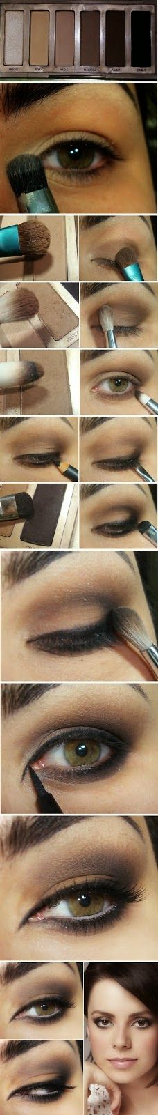Neutral Inspired Makeup Tutorials - Step by Step