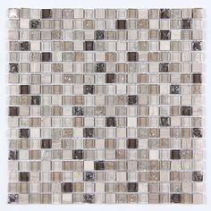 All Marble Mosaic Glass and Stone Mix 5/8 x 5/8 Glass Mosaic Tile Mag 4419 SQ from http://AllMarbleTiles.com