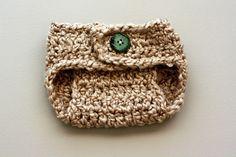 Free Crochet Diaper cover Pattern.