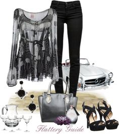 """""""Elizabeth"""" by flattery-guide ❤ liked on  polyvore. LOL love the whole image they're sellin' ; )"""