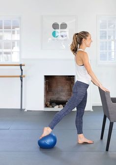 Five Ways to Get Toned With A Pilates Ball These are really effective!