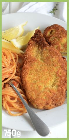 Veal Recipes, Cooking Recipes, Zucchini Chips, Pasta, Chorizo, Spaghetti, Food And Drink, Meat, Salads