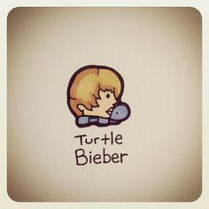 Turtle Bieber #turtleadayjune - @turtlewayne- #webstagram