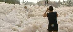 Foam Flood in Queensland