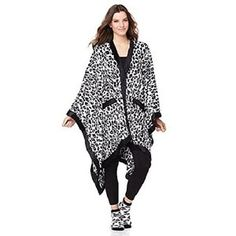 Amazon.com   Concierge Collection Soft   Cozy Glimmersoft Angel Wrap and  Sock Set - Snow Leopard   Everything Else 4efd0b419