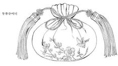 Korean Art, Designs To Draw, Coloring Pages, China, Paintings, Traditional, Embroidery, Drawings, Pattern