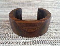straight wooden bangle