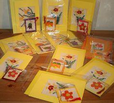 Martisoare lucrate manual, traditionale romanesti de 1 Martie