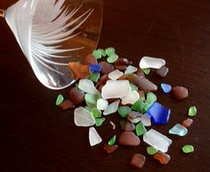 Everything Coastal....: Sea Glass Collecting at Half Moon Bay